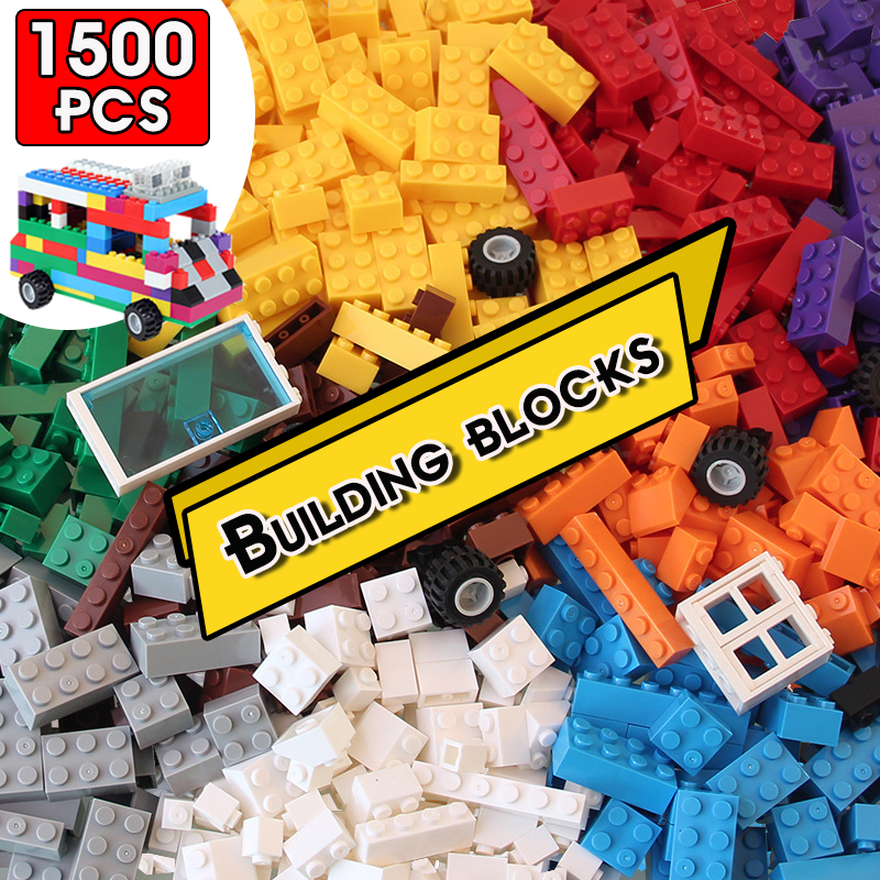 DIY Building Block City Compatible Classic Bricks Boy Girl Gift Model Combination Children's Educational Building Block Toy