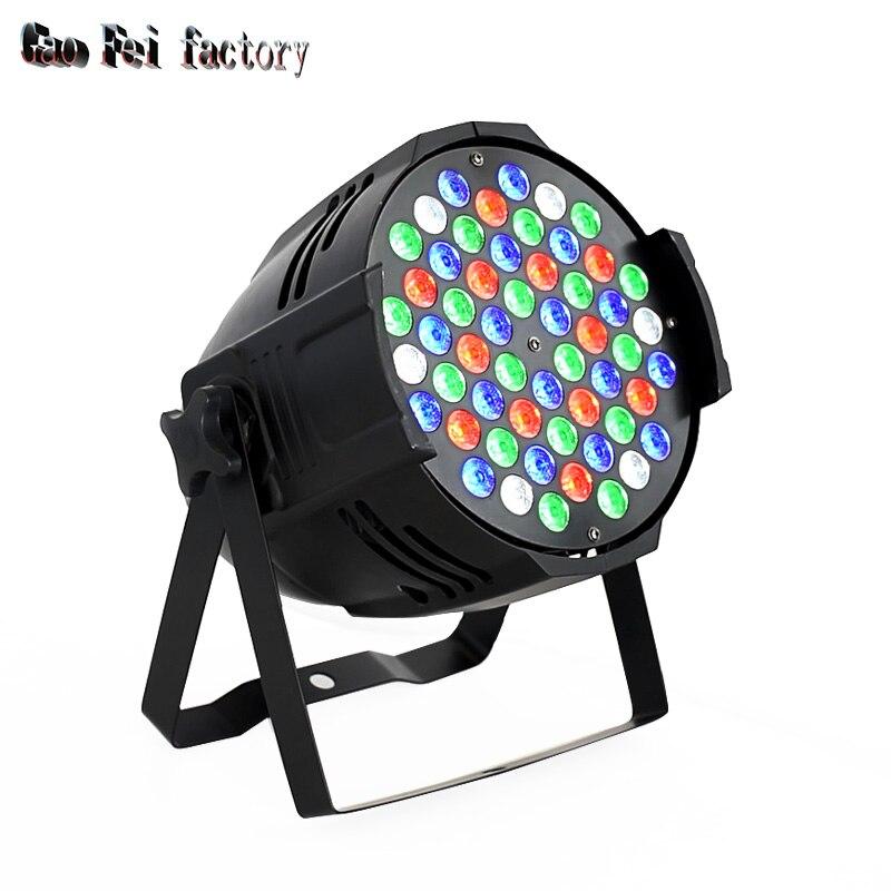 LED Par 54X3W Cast Aluminum Durable LED Par Light DMX Control 64 RGBW Stage Light Disco DJ Light