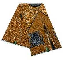 Африканская Pagne Ankara Высококачественная Гарантированная настоящая голландская восковая ткань для африканской одежды Дашики