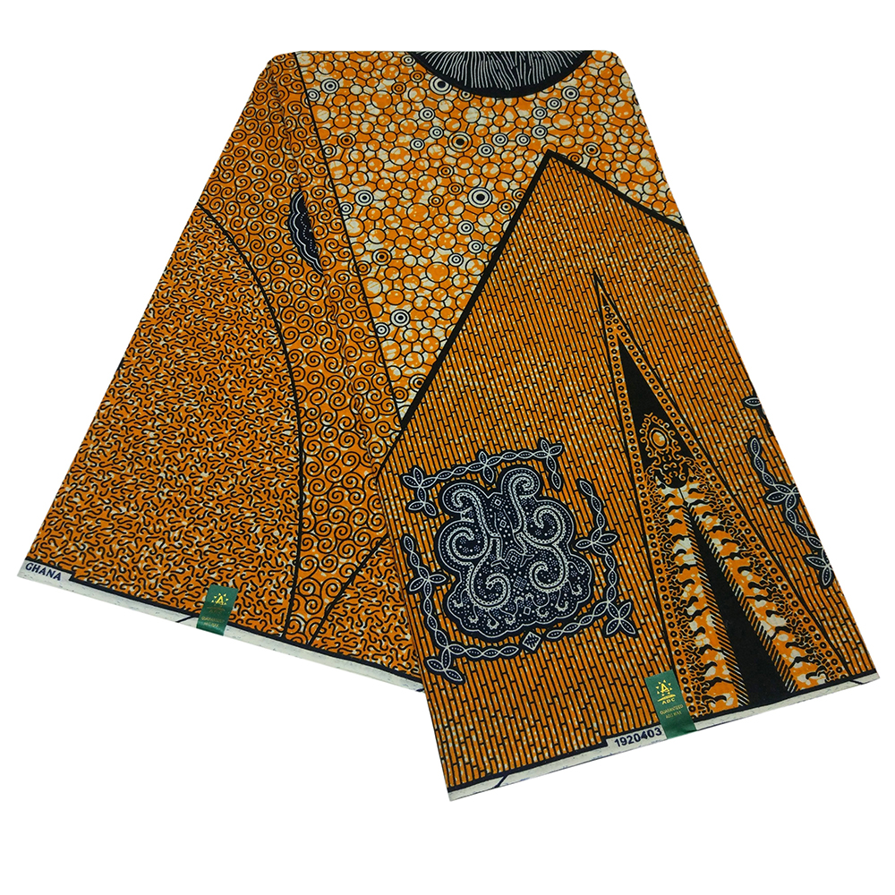 African Pagne Ankara High Quality Guaranteed Real Wax Fabric For African Dashiki Clothes