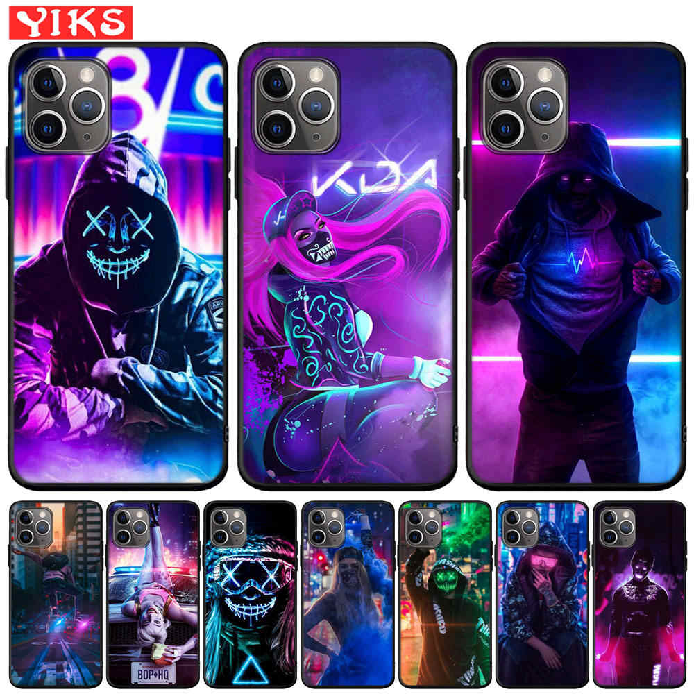 Phone Case For iPhone X XR XS 11 Pro Max 8 7 6 6S Plus Street Brand Boy Girls Cover For iPhone 5 5S SE Fundas Coque Etui Hoesjes