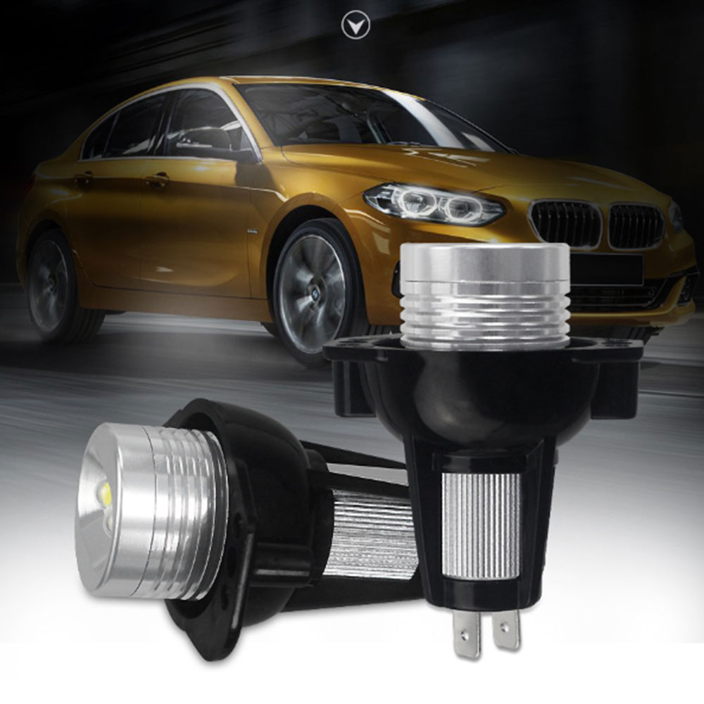2 Pcs LED Marker Indicator for BMW 3 Series E90 E91 Angel Eyes LED Side Light Bulb Sedan Wagon Headlights Z27 image