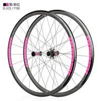 KOOZER RS1500 Road Bike 700C Wheelset Front 2 Rear 4 Bearing 72 Ring 30MM Rim 2:1 Spoke Wheels Ultralight road wheel set