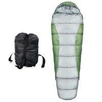 Para acampamento ao ar livre inverno quente sacos de dormir rede cobertor pp algodão portátil multiuso prático à prova vento rede