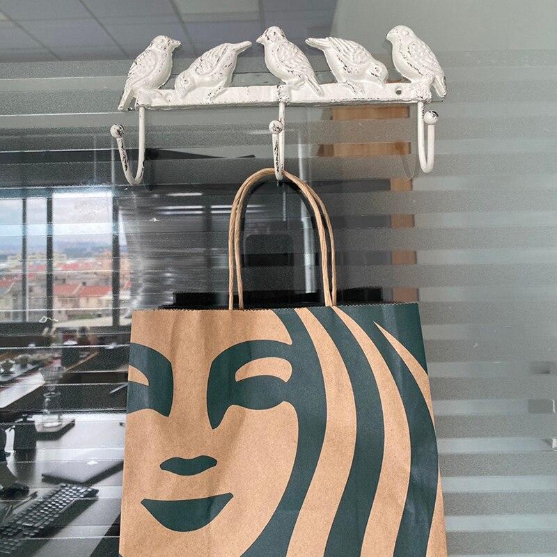 Креатив стена подвес крючок колибри узор хранение держатель для ванной комнаты кухни вешалка палка стена вешалка дверь полотенце вешалки