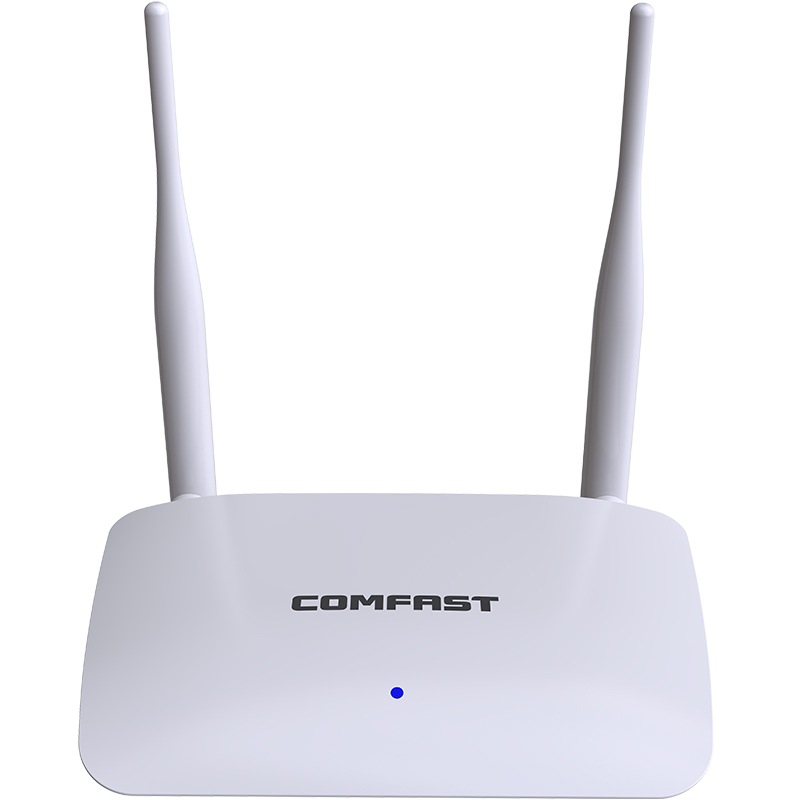 WIFI Coverage Home Network Access Point 1 WAN+3 LAN RJ45 Port Wireless Wifi Router 300Mbps With 2*5dBi Antennas CF-WR623N