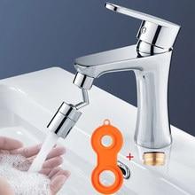 Shai universal cabeça de pulverização torneira respingo 720 graus rotação filtro água bubbler aerador torneira da cozinha bico