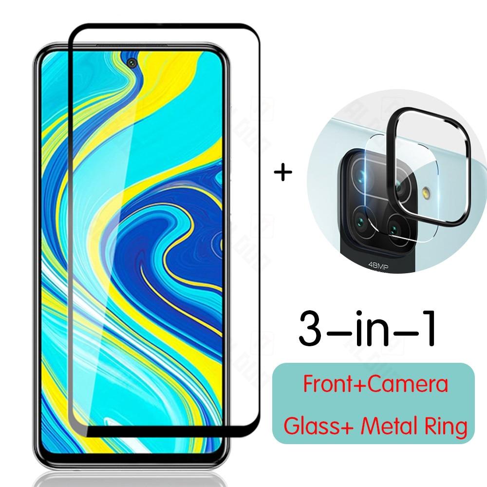 Стекло для камеры Xiaomi Redmi Note 9s 9 pro стекло для Redmi note 9 9pro Защитная пленка для экрана металлическое кольцо для redmi note 9 стекло