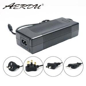 Image 2 - AERDU 7S 29.4V 4A 24v li ion battery pack charger Desktop type fast Power Supply Adapter EU/US/AU/UK AC DC 5521 Converter quick