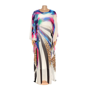 Image 5 - Länge 150cm 2 Stück Set Afrikanische Kleider Für Frauen Afrika Kleidung Muslimischen Lange Kleid Länge Mode Afrikanischen Kleid Für dame