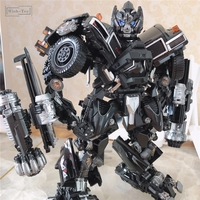 BMB Transformation Robot Black Mamba LS 09 LS09 Ironhide Weapon Expert KO MPM06 MPM 06 Alloy Truck Mode Action Figure Model Toys