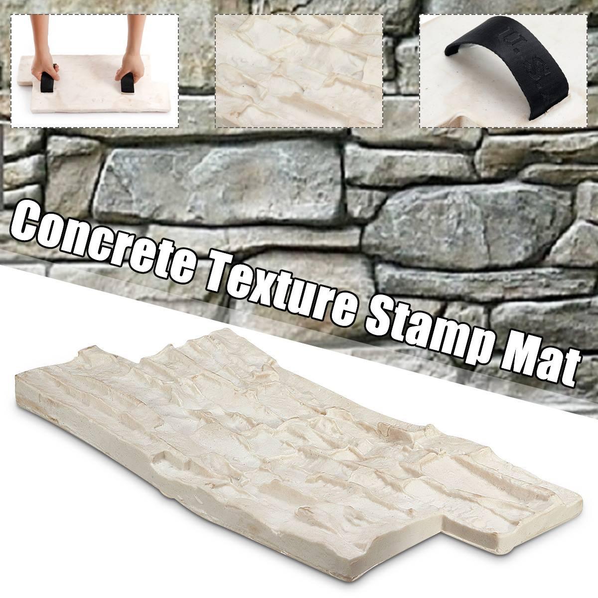 Полиуретановые формы для бетонного цемента штукатурки штампы модели формы резиновые формы Садовый дом Декор Текстура стены и полы формы|Формы для уличной плитки|   | АлиЭкспресс