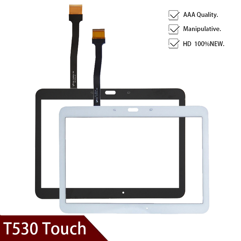 "New For Samsung GALAXY Tab 4 10.1"" T530 T531 T535 SM-T530 Touch Screen  Digitizer Glass Sensor Panel"