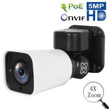 IP Outdoor Camera 1080P Home Security POE Camera 5MP 4X Optical Zoom PTZ Bullet IP Camera POE Onvif IR Night Vision P2P 2018 yunch 1080p 10x 4x waterproof zoom cctv camera with poe ip bullet ptz camera onvif 1080p mini ptz ip surveillance camera