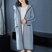 KMETRAM Winter Jacket Women Real Wool Coat Female Jacket Double Side Woolen Coat Women Hooded Korean Long Coats Manteau Femme MY