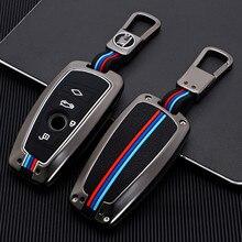 자동차 키 케이스 커버 Bmw F20 F30 G20 f31 F34 F10 G30 F11 X3 F25 X4 I3 M3 M4 1 3 5 시리즈 액세서리 자동차 스타일링
