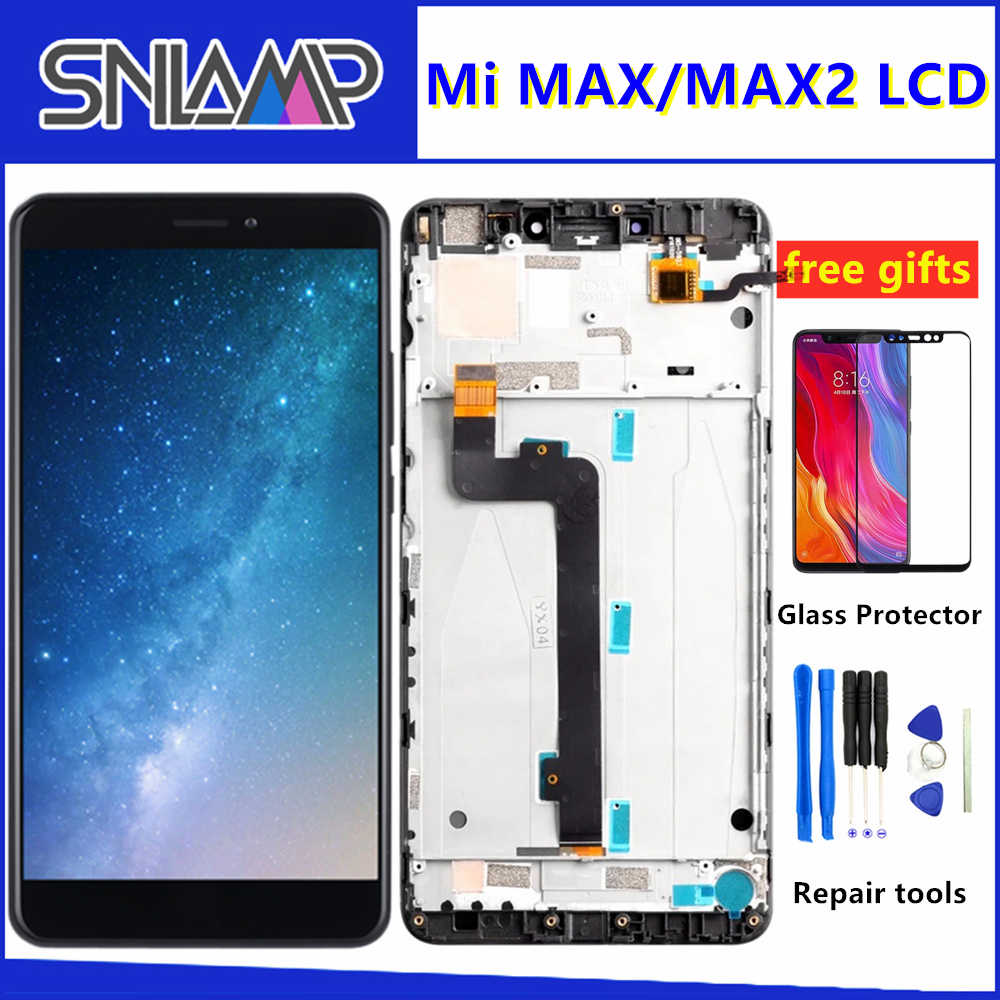 "6.44"" Original IPS LCD For XIAOMI MI MAX LCD Display Touch Screen for XIAOMI Mi Max 2 LCD Screen with Frame Replacement Parts"