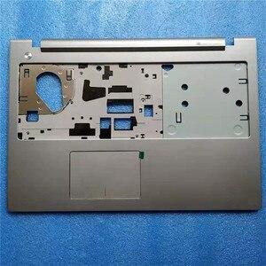 Image 3 - Novo original para lenovo ideapad z510 portátil c escudo de metal prata escovado caso com touchpad e sem touchpad ap0t2000500