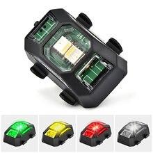 Drone Strobe Lights Signal Warning Light Flashing High Brightness Easy Built-in Battery for DJI Mavic Mini 2/ Mavic Air 2/ FPV