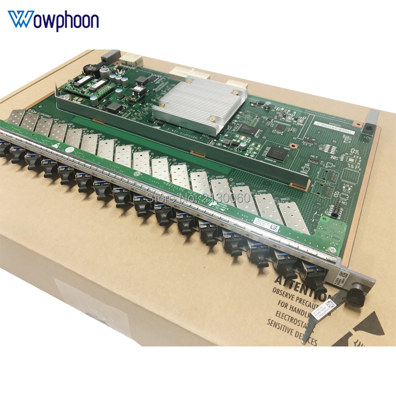 Huawei 16 Porta PON Bordo GPON GPFD con C + + SFP Adatto 16 porte GPON OLT Scheda di Interfaccia per MA5680T MA5683T MA5603T MA5608T
