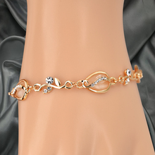 Love Bracelet Bangles for Women Bracelets for Women Luxury Jewelry Opal Crystal Gold Plated Bangle Charm Bracelet Rhinestones stylish rhinestones faux pearls rose gold bracelet for women