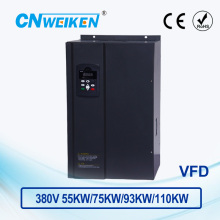 WK600 Vector Control frequency converter 55kw/75kw/93kw/110kw Three phase 380V variable frequency inverter for motor VFD цена