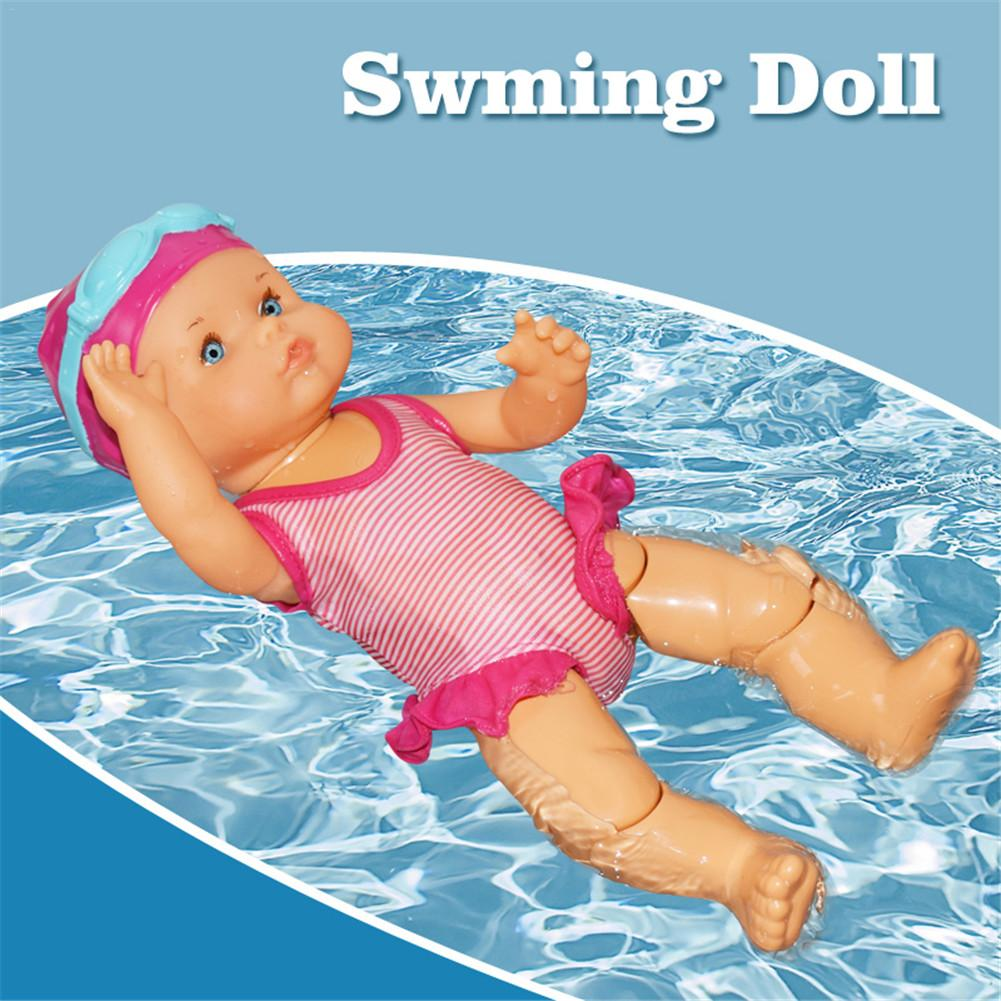 Cute Electric Swimming Doll