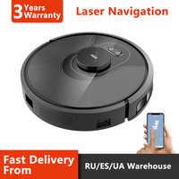 ABIR X8 Robot Vacuum Cleaner,Laser Lidar Navigation,Hand Draw Cleaning Area ,Map Storage,Hand Draw Virtual blocker,3200mAh Li-on