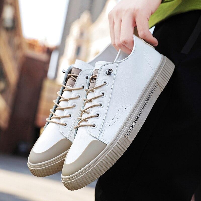 Comfortable Classic Skate Shoes Wear High Men's Shoes Breathable Sneakers Men Zapatos Hombre