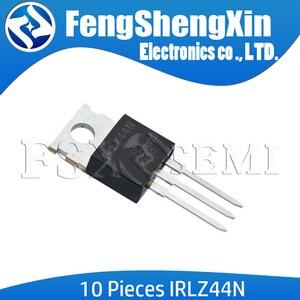 Image 1 - 10pcs/lot IRLZ44N TO 220 IRLZ44 IRLZ44NPBF MOSFET
