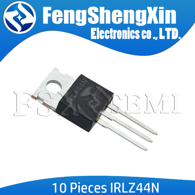 10pcs/lot IRLZ44N TO 220 IRLZ44 IRLZ44NPBF MOSFET