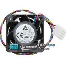 Delta 12V 1.01A 4028 40MM 4CM 40 * 40 * 28 mm 1U 2U server fan Big power Cooling fan FFB0412UHN-BC2E with 4pin цена 2017