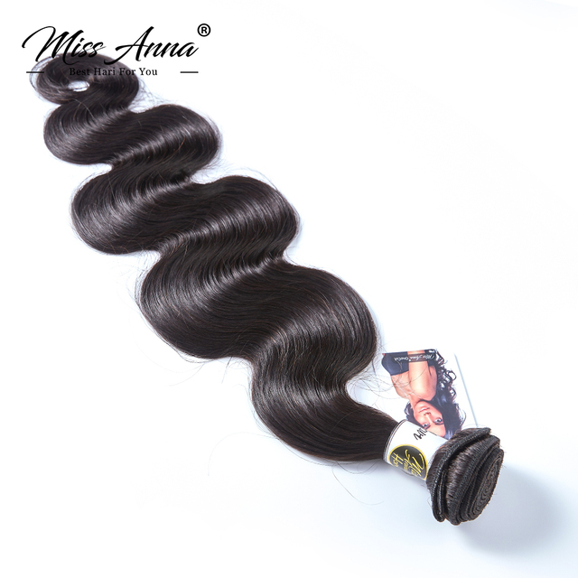 [MissAnna] OneCut P Brazilian Body Wave Hair Weave 3 Bundles With 360 Lace Frontal Remy Human Hair Bundles With Lace Frontal 2