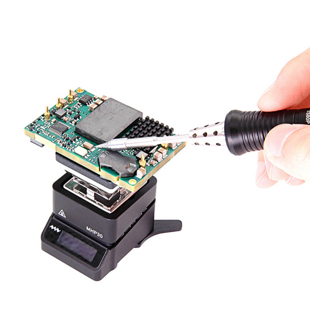 KKmoon MHP30 Mini Hot Plate Pre-heater Constant Temperature Heating Station Soldering Station OLED Digital Display