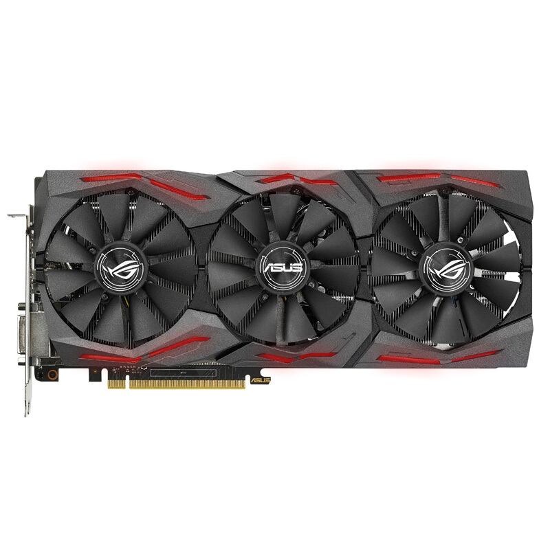 ASUS ROG-STRIX-GTX1080TI-O11G-GAMING Raptor used Graphics card image