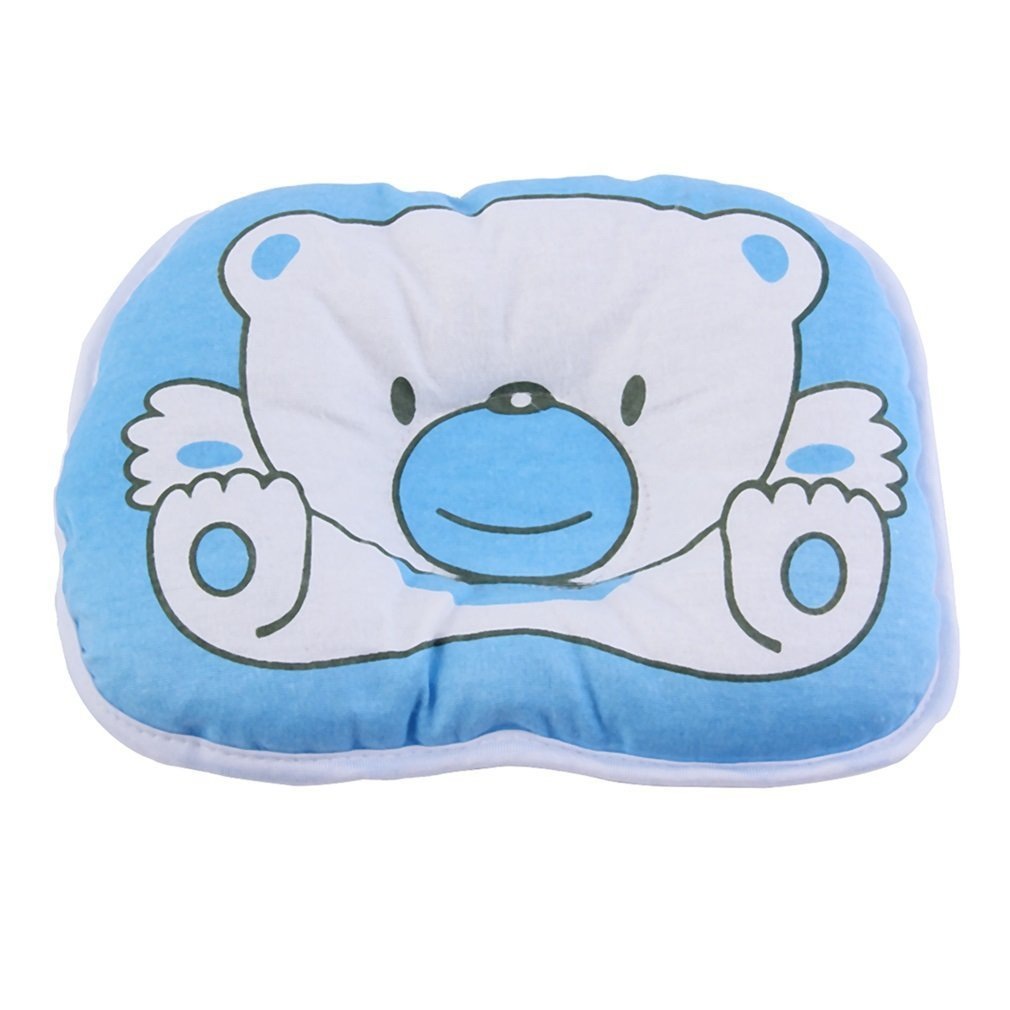 Wholesale 10pcs/1set  Bear Pattern Pillow Newborn Infant Baby Support Cushion Pad Prevent Flat Head 100% Top Good