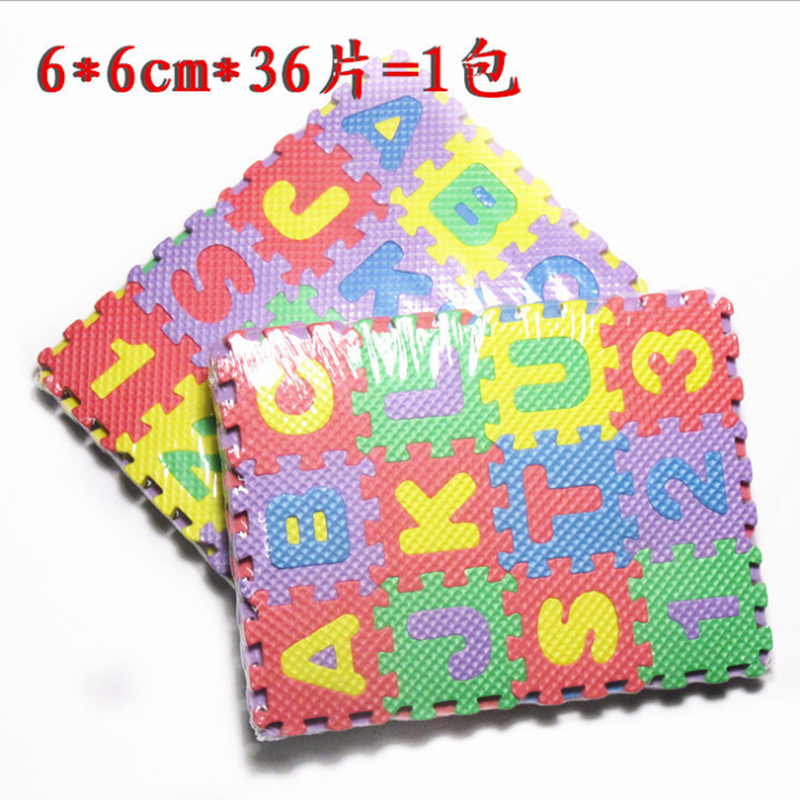 Children Mini Foam Alphabet Letters Numbers Floor Soft Baby Mat 3d Puzzle Kids Educational Toys Kids Gift