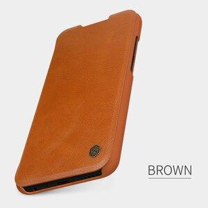 Image 3 - Caes Xiaomi Redmi 注 8 Note8 プロ Nillkin 秦シリーズ Pu レザーフリップ Redmi 注 8 ケース