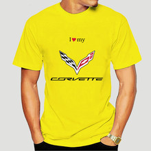 T-shirt Corvette S M XL XXL donna ZR1 C2 C3 C4 C5 C6 C7 Stingray muscle car-2214A