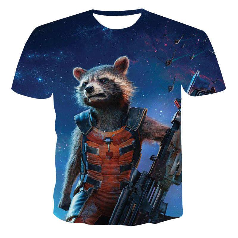 新しい3D男性tシャツクマwarriorパターン紳士服街のレジャー半袖男性の夏のファッションプリントtシャツ