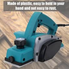 Многофункциональный Электрический рубанок мощный деревянный ручной плотник деревообрабатывающий файл инструмент домашний DIY Набор инструментов Набор дерево