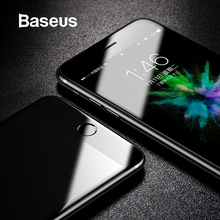 Baseus Tempered Glass For iPhone 8 8 Plus Screen Protector Ultra Thin 9H Protective Glass For iPhone 7 7 Plus Full Coverage Film remax ultra thin magic tempered 9h glass screen protector guard for iphone 6 4 7