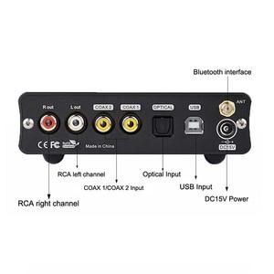 Image 4 - TOPPING DX3 Pro HIFI DAC USB Bluetooth 5.0 Headphones Amplifier Audio Decoder XMOS XU208 AK4493 DSD512 Coaxial Spdif USB DAC Amp
