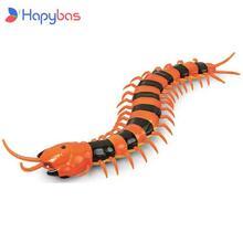 NEW Infrared RC Remote Control Simulation Centipede Creepy-Crawly Kids Toy Gift Orange&Black