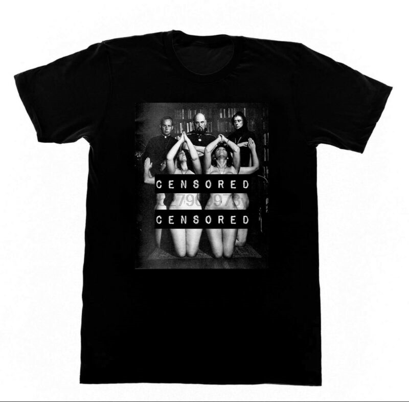 Антон ЛаВей, ритуальная футболка 20 Футболки церковь с мотивом пентаграммы Love You To