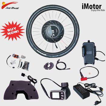 Kit de conversión de Bicicleta eléctrica, Motor de batería sin escobillas, Con...