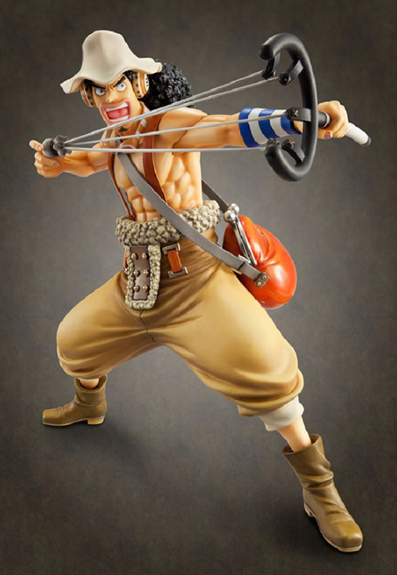 Big Size One Piece Usopp Anime Collectible Action Figure PVC Collection
