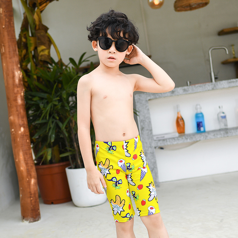 Su Lang Summer Beach Shorts Women's Boxer Short Large Size Swimming Trunks BOY'S Loose-Fit Hot Springs Quick-Dry Seaside Holiday