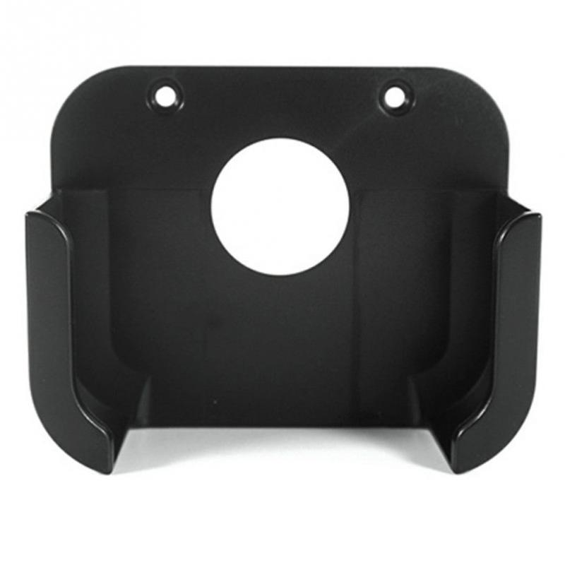 Black Square 98 * 98 * 33mm Plastic Media Player Wall Mount Bracket Stand  Holder Case For Apple TV 4th Gen