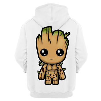 2020 Guardians of the Galaxy Groot Men Hoodies Sweatshirts 3D Printed Funny Hip Hop Hoody casual Streetwear off white Hooded 2